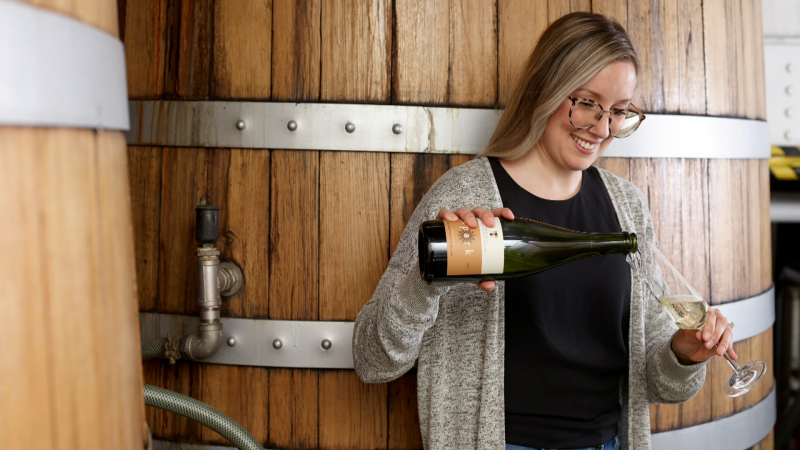 "We talk to the ""Flying Sommelier"" about female winemakers and sample their wines on International Women's Day"