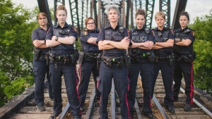 Out of the 100 sworn officers in the Prince Albert Police Service, 15 are women. (Lisa Simonson/Submitted)