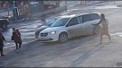 Supplied surveillance image of the incident.