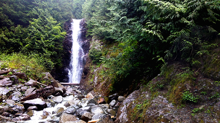 Norvan Falls at Lynn Headwaters Regional Park is seen in this undated file photo. (Metro Vancouver)
