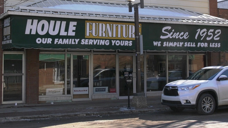 Houle Furniture has been a staple in Prince Albert for 69 years. (Lisa Risom/CTV Saskatoon)
