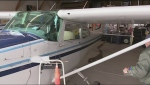 Pilot blocked from taking out his plane