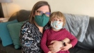 Doctors told Angela Schuurman, 35, her cancer diagnosis would normally mean starting chemotherapy treatments quite soon, but her pregnancy means there's another life to consider. (Dave Mitchell/CTV News Edmonton)