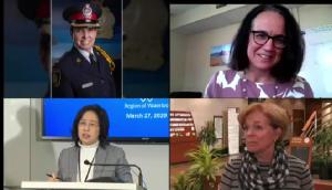 Women leading region's pandemic response