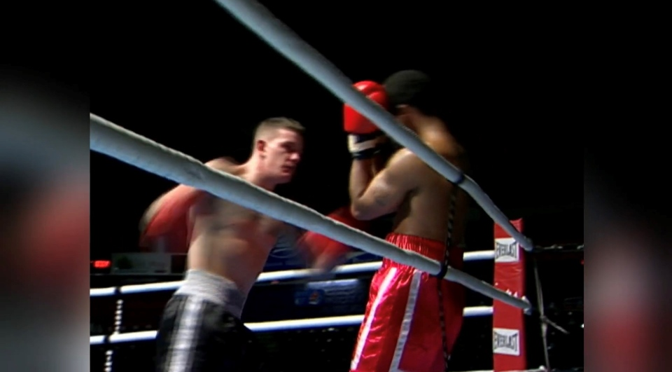 Shane Wilson is pictured during a professional  boxing match in 2006.