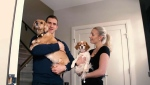 Calgary Flame Mikael Backlund gives back by partnering with a charity that helps kids keep their pets.
