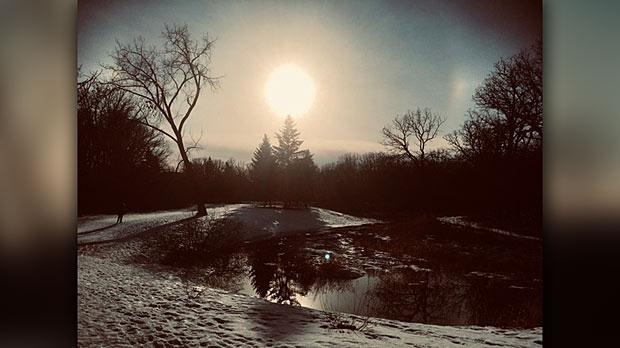 A beautiful afternoon at Bunn's creek