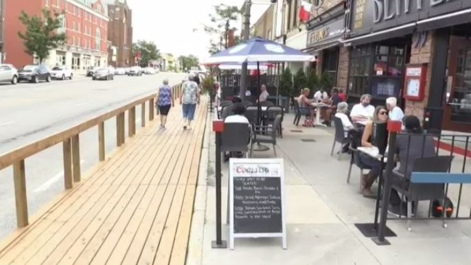 Stratford council voted in favour of extending the city's patio program into summer 2021.