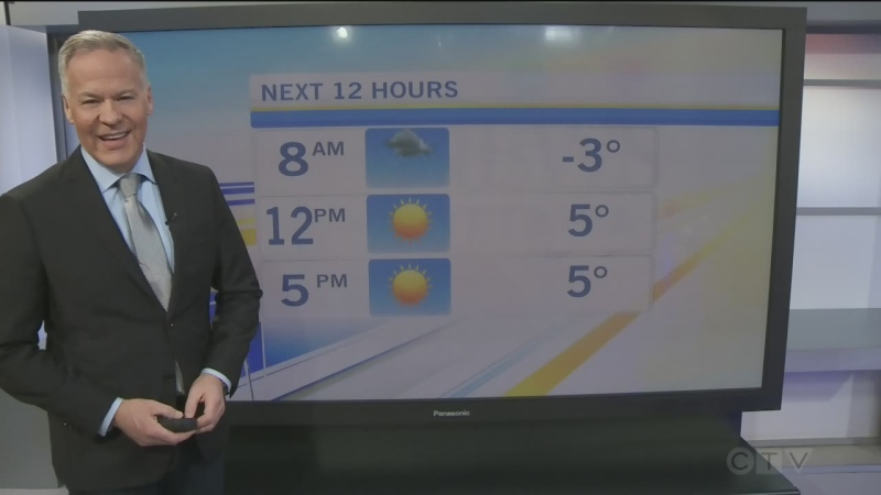 CTV Morning Live Weather Mar 09