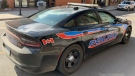 Chatham-Kent police cruiser in Chatham-Kent in March, 2021. (Chris Campbell / CTV Windsor)