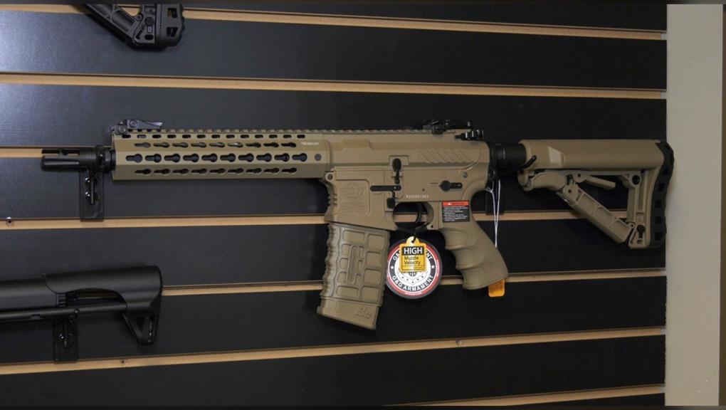 airsoft, guns, ban, federal, government, ottawa