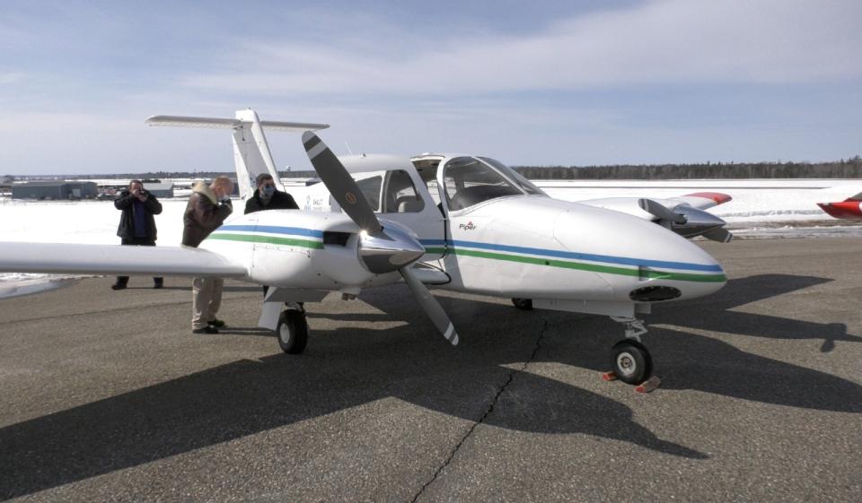 Sault airplane
