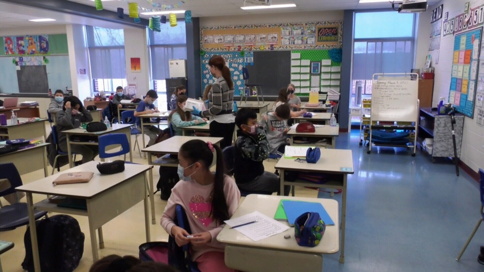 Sherbrooke academy senior elementary masks