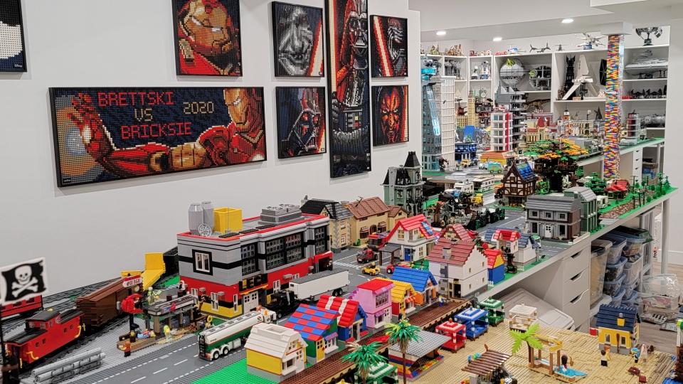 Jordan Forsythe, Bricksie, LEGO