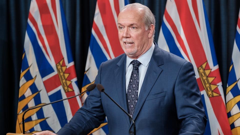 B.C. Premier John Horgan
