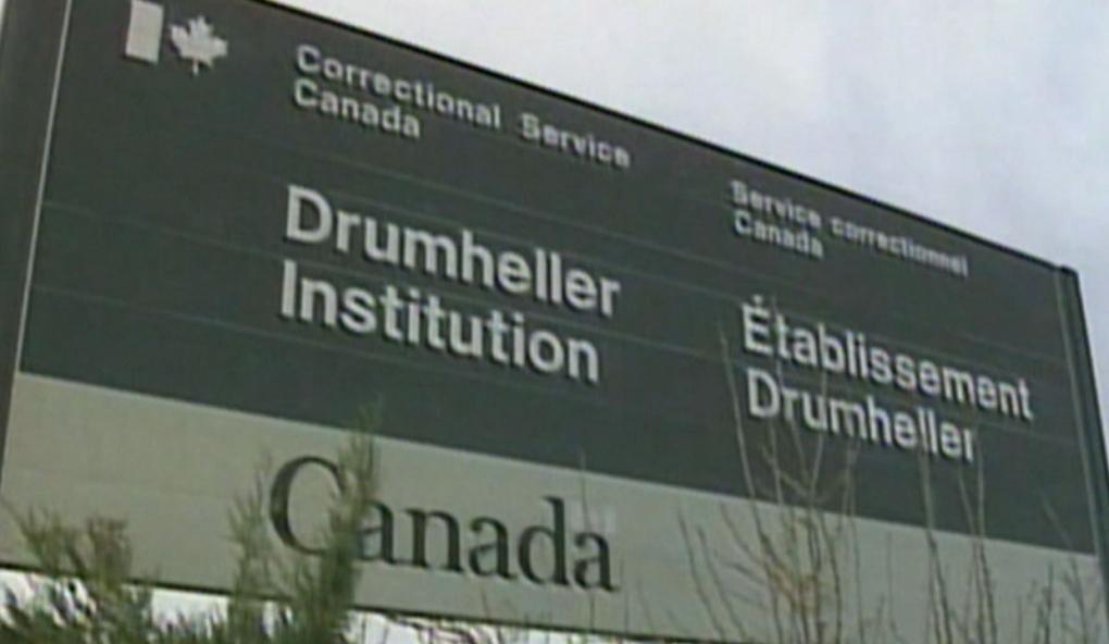 calgary, drumheller institution, prison, canadian