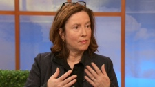 Alana Johns, a linguistics professor who also teaches Aboriginal languages at the University of Toronto, appears on CTV's Canada AM on Thursday, Nov. 5, 2009.