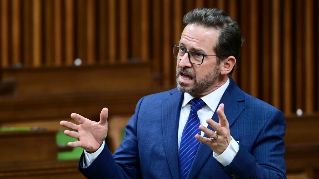 Bloc Quebecois Leader Yves-Francois Blanchet