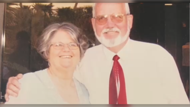 Elizabeth and Frank Olah are pictured in an undated image. Frank died in May 2020 from heart failure, while Elizabeth died from COVID-19 in November. (Image courtesy: Jenn Lambert)