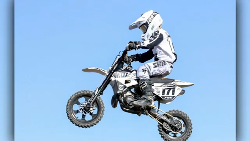 Dylan Sawyer is a risig young motocross athlete and he's our Athlete of the Week.