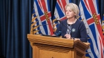 Dr. Bonnie Henry gives a COVID-19 update for B.C. on March 11, 2021. (Province of B.C./Flickr)