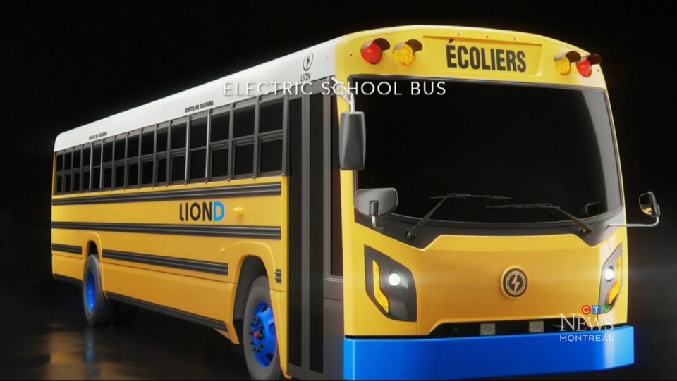 Quebec electric bus company to get $100M
