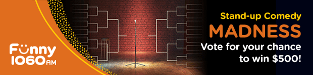 Funny 1060AM Stand-up Comedy Madness Listing