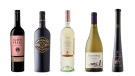Slow Press Cabernet Sauvignon 2017, Boneshaker Old Vine Zinfandel 2017, Santi Sortesele Pinot Grigio 2018, Zuccardi Q Chardonnay 2019, Reif Estate Winery Vidal Icewine 2018