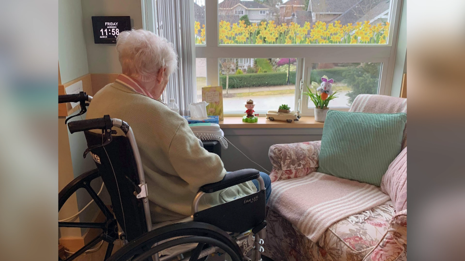 Visitor restrictions in long-term care