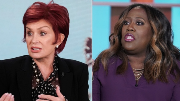 Sharon Osbourne is out of 'The Talk'
