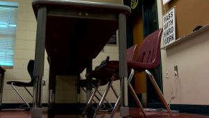 A classroom is pictured in a CTV News file photo.