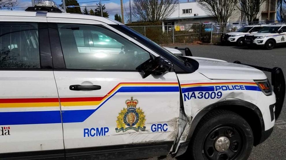 Nanaimo RCMP damage