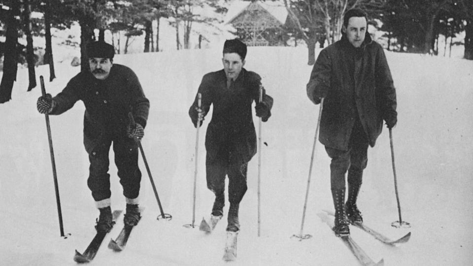 Skiing in the Gatineau