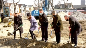 Construction is now underway on a new Ronald McDonald House in Winnipeg. (Source: Scott Andersson/CTV News)