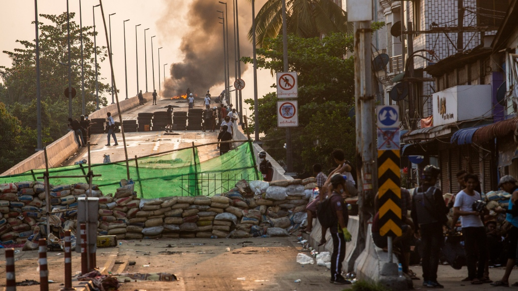 Myanmar: Security forces kill 8 protesters - local reports