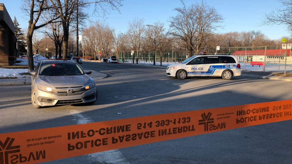 Police investigating after two people stabbed