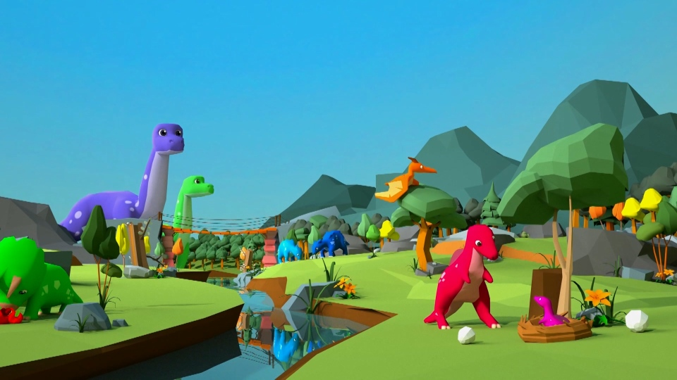 Dino Island was developed by a research team.