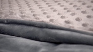 Weighted blankets could help you sleep.