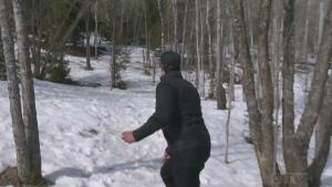 Josh explores the sport of disc golf