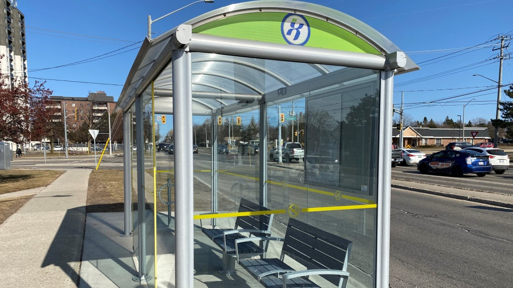 grand river transit grt bus shelter