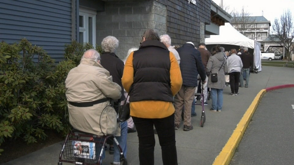 Vaccine rollout looks different on Gulf Islands