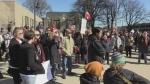 Rally in Sarnia
