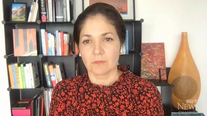 Wife of Michael Kovrig, Vina Nadjibulla