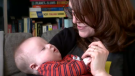 Amanda McDougall's son, Emmett, is diagnosed with Down syndrome – a condition in which a person has an extra chromosome.