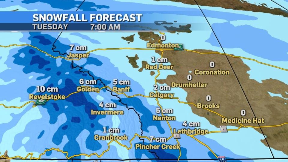Calgary forecast