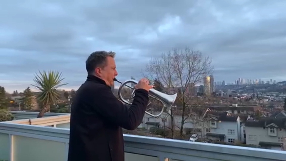 Burnaby trumpet