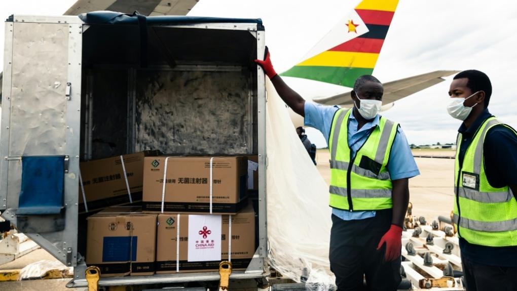 Zimbabwe COVID-19 AFP