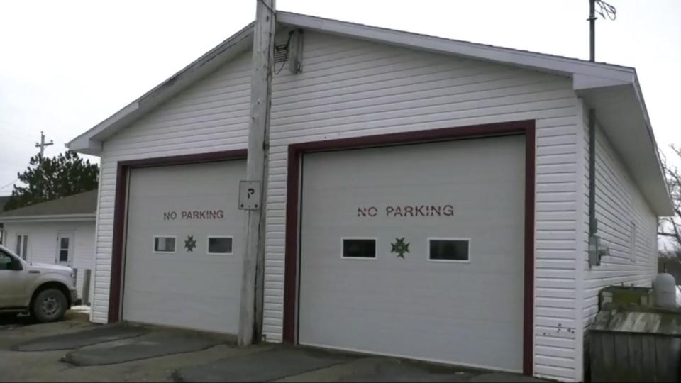 Port Morien fire station