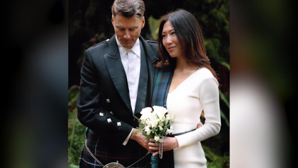 Wedding in Stanley Park