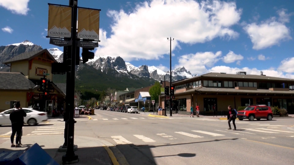 Canmore, downtown